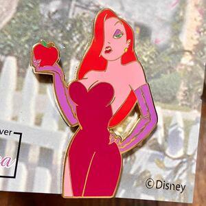【日本未入荷!】Disney ディズニー ロジャーラビット ジェシカ ピンバッジ ピンバッチ ピンズ 海外 限定 WDW