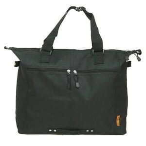 【新品・ブラック】☆大容量トートバッグ☆ A3ファイル エコバック マザーズバッグ ショッピング
