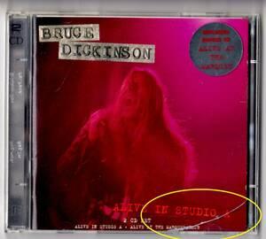 Used CD 輸入盤 ブルース・ディッキンソン Bruce Dickinson『アライヴ・イン・スタジオA + アライヴ・アット・ザ・マーキー・クラブ』