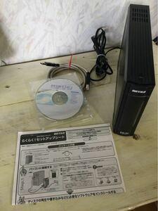 BUFFALO 外付 DVDドライブ DVSM-U24U2 中古