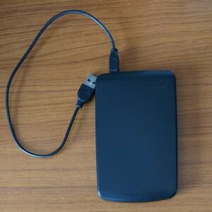 PV320U2 ポータブルハードディスク BUFFALO 320GB
