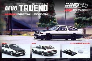 1/64 INNO SPRINTER TRUENO スプリンタートレノ AE86