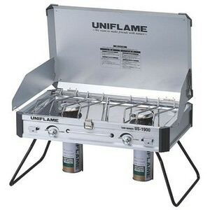 UNIFLAME ユニフレーム ツインバーナー US-1900 新品未開封、送料込
