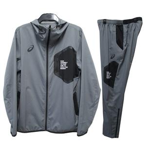 アシックス asics ジャージ ジャケット メンズ 上下 LIMOストレッチクロスHD トレーニングウェア スポーツ グレー Lサイズ 23770
