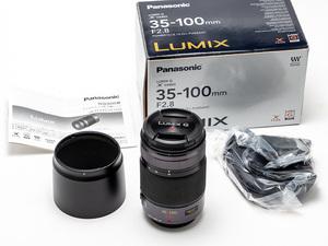 LUMIX G X VARIO 35-100mm F2.8 POWER O.I.S H-HS35100 中古美品 送料無料!Panasonic ルミックス 大三元 m4/3 70-200/2.8相当