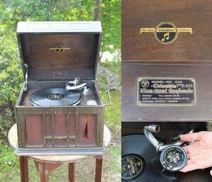Columbia コロンビア 蓄音機 Viva-tonal Grafonola Model No.420 ジャンク品