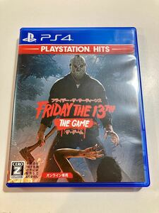 PS4 プレイステーション4 フライデー・ザ・サーティーンス ザ・ゲーム