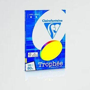 新品 好評 プリンタ-用紙 クレ-ルフォンテ-ヌ 0-XA トロフェ A4 80g/㎡ 紙厚0.107mm 濃色 100枚入り (5色アソ-ト) pcf1876/0