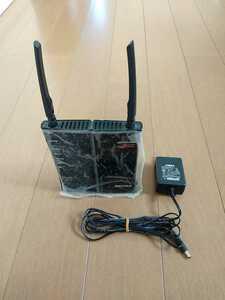 BUFFALO WHR-HP-G300N 無線LANルーター WiFiルーター 動作OK スタンドなし