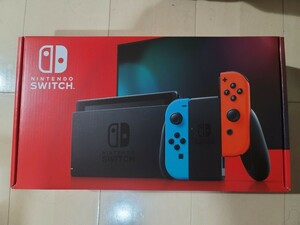 【新品】 Nintendo Switch本体  ネオンレッド ネオンブルー