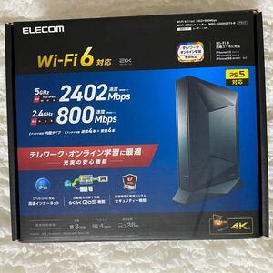 elecom wrc-x3200gst3-b 無線LANルーター