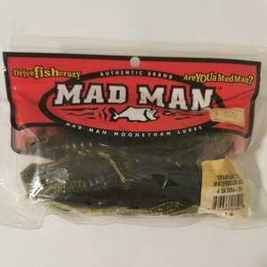 マッドマン クローフィッシュチューブ 5インチ ウォーターメロンシード 廃盤 希少