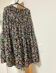 スカート 花柄 ロングスカート