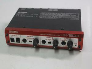 K9134 YAMAHA Yamaha USB AUDIO MIDI PERSONAL STUDIO interface UW500