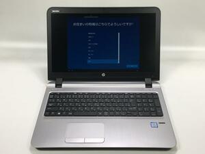 [美品] HP ProBook 450 G3(2RA41PA#ABJ/Win10x64) Core i5-2.3GHz(6200U)/8GBメモリ/新品SSD240GB/DVDマルチ/15.6/指紋認証/Webカメラ