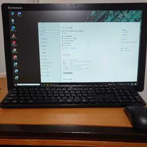 美品☆デスクトップパソコン 一体型Office2019 Win10 第四世代Intel メモリ4GB SSD512GB Bluetooth/(タッチパネル)21.5型IPSフルHD