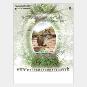 2022年壁掛けカレンダー PR940 自然の育み
