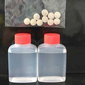 ゾウリムシ培養セット 培養方法付 ゾウリムシ種水約60mlと餌500mlペットボトル20本分 獅子頭 メダカ 熱帯魚 錦鯉 毛仔 稚魚 針子 の餌に