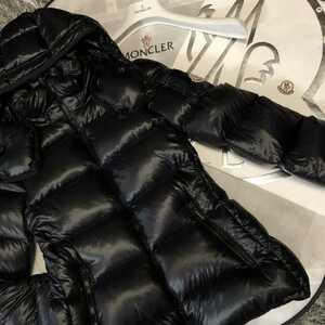 モンクレール 正規品 BERRE サイズ1 ブラックMONCLER ダウンジャケット