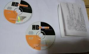HD Advance 1.0 cd DVD ps2 日本版と説明書