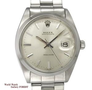 【ROLEX ロレックス☆オイスター デイト プレシジョン】Ref:6694 アンティーク ヴィンテージ SS 手巻き 中古 メンズ腕時計