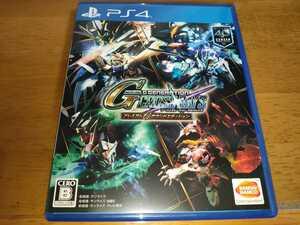 中古 送料無料 PS4 SDガンダム Gジェネレーション クロスレイズ プレミアムGサウンドエディション Gジェネ