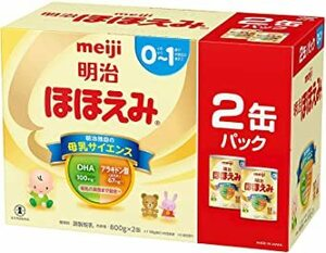 明治 ほほえみ 2缶パック 800g×2缶×2セット
