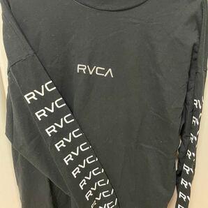 RVCA ロンT ブラック