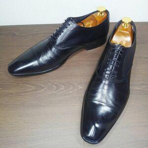 ■定番◎Madras★ストレートチップ★25cm★マドラス★黒★日本製★革靴★靴★メンズ★レザー★ビジネスシューズ
