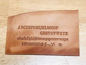 活字 3号(1) 刻印 メタルスタンプ アルファベットと数字記号各3個のセット219個