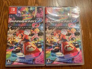 【新品未開封】 マリオカート8 デラックス 2本セット Nintendo Switch ニンテンドースイッチ 任天堂スイッチソフト