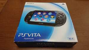 PlayStation Vita 初期有機EL Wi-Fiモデル pch-1000 クリスタルブラック メモリーカード 16GB付き