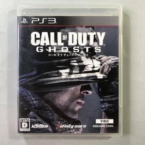 コールオブデューティゴースト 字幕版 PS3ソフト SONY プレイステーション3 CALL OF DUTY GHOSTS