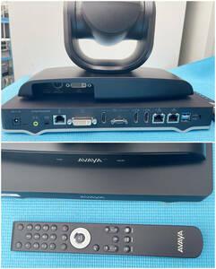 Avaya Room System XT4300 1080p/60fps対応ビデオ会議システム ミドルモデル標準価格:¥712,000(税別)使用頻度少な目で綺麗