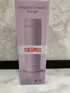 サーモス 水筒 真空断熱ケータイマグ 480ml シェルピンク