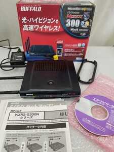 2500 無線LANBBルータ WZR2-G300N/P BUFFALO/バッファロー◆無線LAN BBルーター AirStation