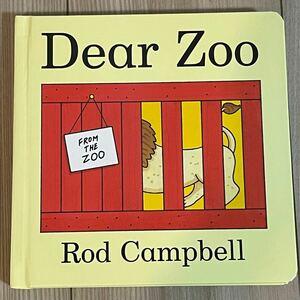 新品英語絵本 しかけ絵本 Dear Zoo