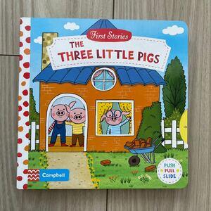 英語絵本 しかけ絵本 three little pigs