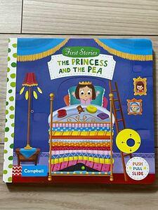 新品英語絵本 しかけ絵本 the princess and the pea