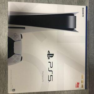 新品・未使用未開 PlayStation5 プレイステーション5 本体 ディスクドライブ搭載モデル PS5 CFI-1100A 01 2021/09/25 購入