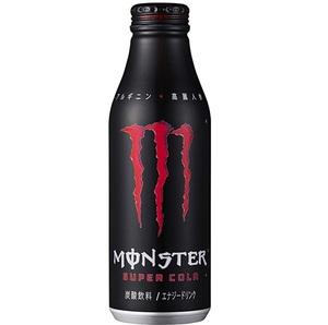 新品 アサヒ飲料 モンスター スーパーコーラ ボトル缶 500ml 1ケース24本入り