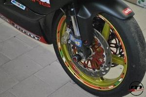 アプリリアRS250 Melotti Racing アクスルスライダー 前後セット