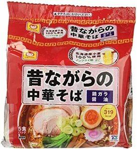 【SALE!!】マルちゃん 昔ながらの中華そば 5食パック × 2個