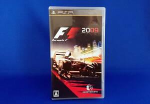 PSP ソフト Formula1 2009 即決!