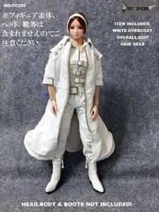 1/6サイズフィギュア用衣装 女性用 オーバーコート&ボディスーツセット (DOLLSFIGURE CC282)
