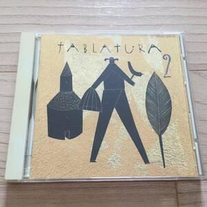 【国内盤CD/[mju:]/HOOU 20012/1989年盤】 タブラトゥーラ / タブラトゥーラ 2 ......................................... // Medieval //