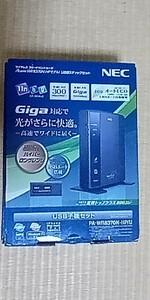 WiFiルーター NEC PA-WR8370N-HP/U