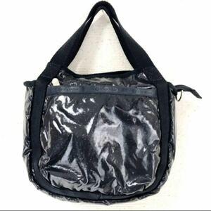 ブラックラメが可愛い☆*:.。. o(≧▽≦)o .。.:*★【Lesportsac】2wayバッグ