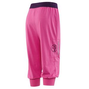 ZUMBAウェア/ヨガフィットネスエアロダンスハーフパンツ ピンク