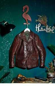 ワックスレザー ホースハイド 復刻20's スイッチヤードコート レザージャケット ブラック カーコート ワークコート ブレーキマン 馬革